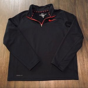 Nike Therma Fit 1/2 Zip Mock Pullover Jacket